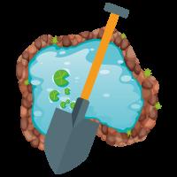 Teichsanierung